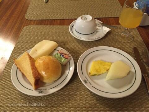 ポルトガル ホテルミラパルケの朝食