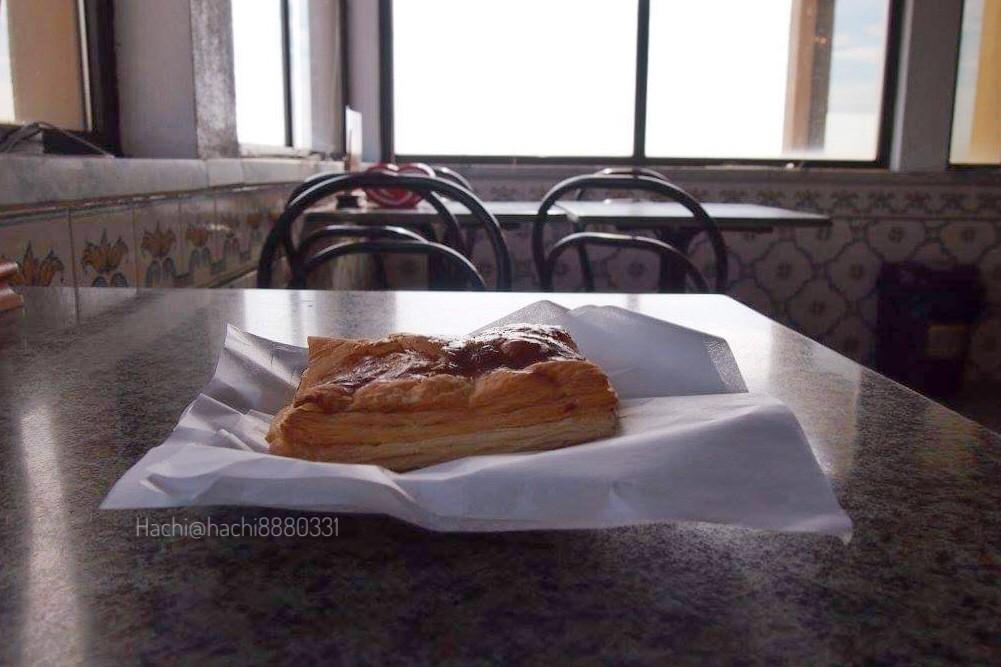ロカ岬の休憩所で食べたお昼ご飯