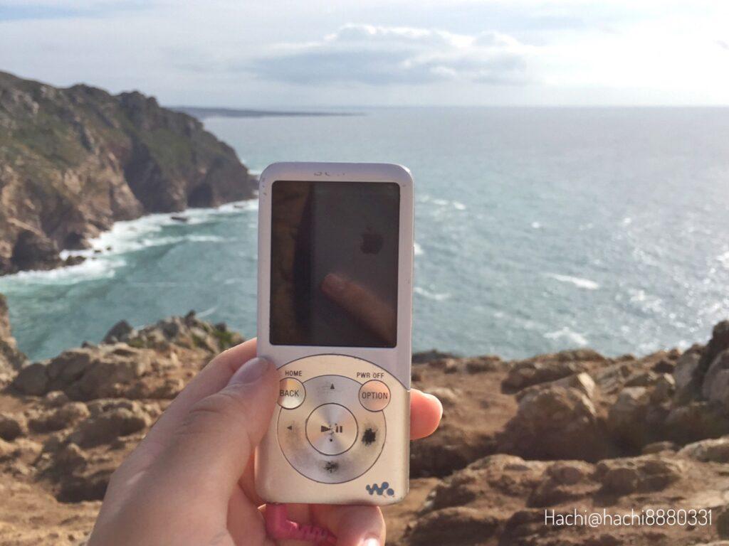 ロカ岬で音楽を聴く