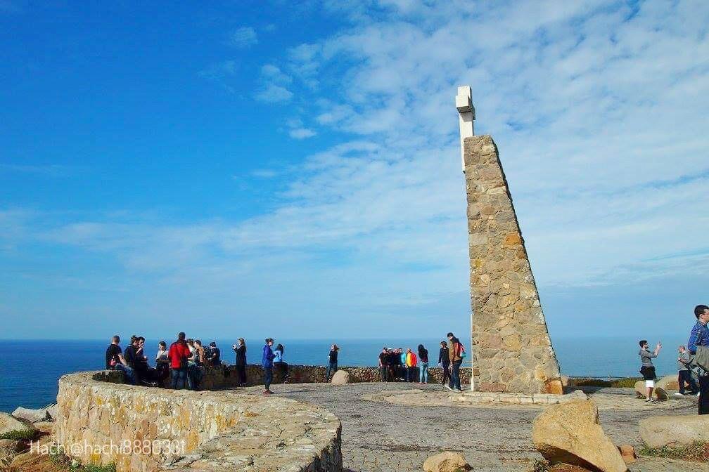 ユーラシア大陸の最西端ロカ岬の風景