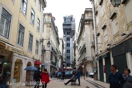 サンタジュスタのエレベーター(Elevador de Santa Justa)