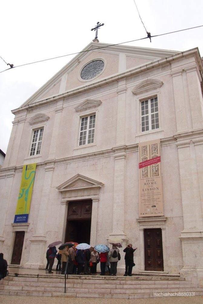 サン・ロッケ教会(Igreja de São Roque)外観