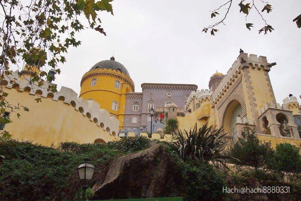 ペーナ宮殿の外観