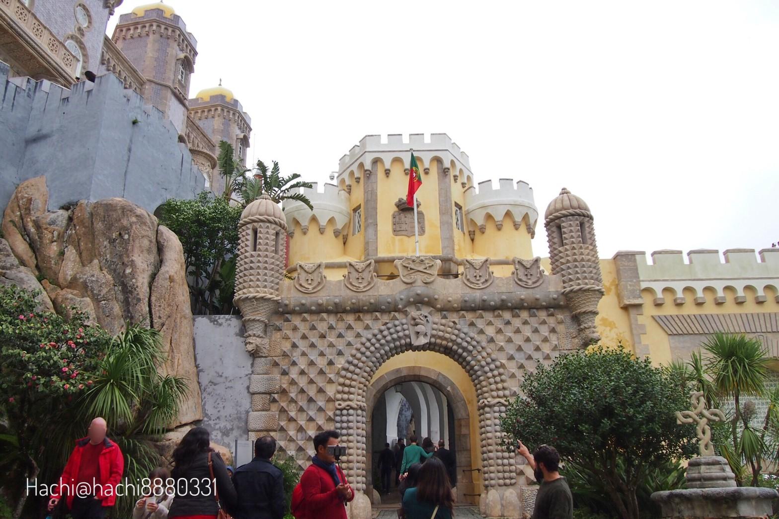 ペーナ宮殿の入口