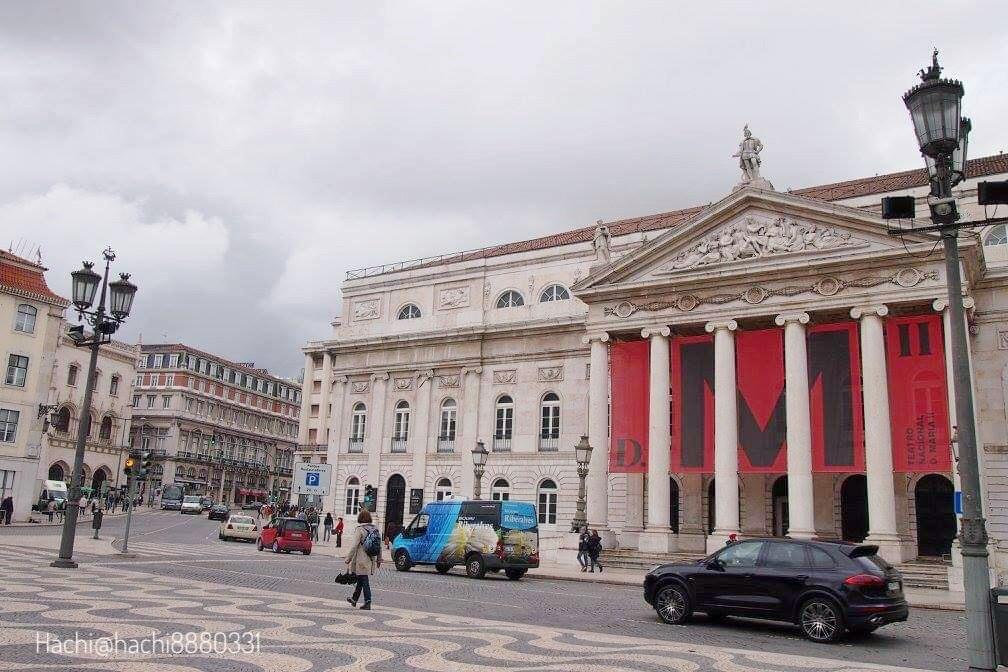 ロシオ広場(Praça Dom Pedro IV)の画像