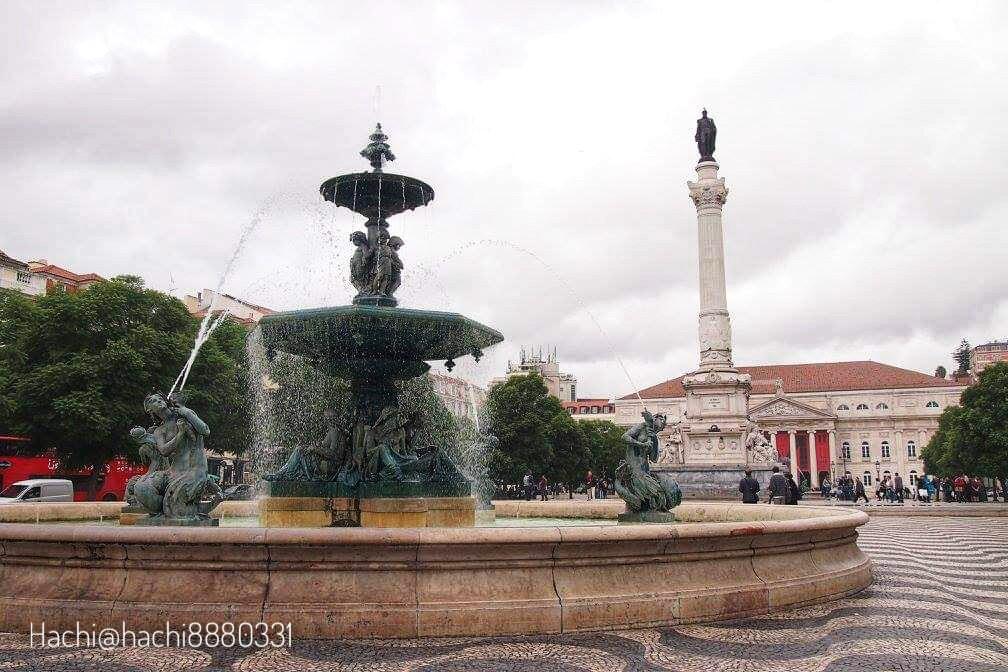 ロシオ広場(Praça Dom Pedro IV)