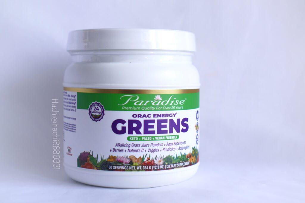 iHerb購入品 Paradise Herbs, ORAC-Energy(ORAC-エナジー)グリーンズ